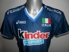 Rare italy volleyball shirt Asics excellent Jersey Italia Włochy - size - XL