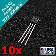 10x DALLAS DS18B20 18B20 TO-92 1 Wire Digital Temperature Sensor IC 10pcs Q29
