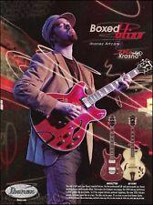 Eric Krasno (Soulive) Ibanez Artcore AF AW guitar ad 8 x 11 advertisement print