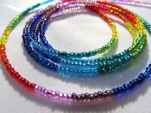 Waist beads for weight loss( tie on )-Chakra