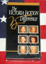 NEW Victoria Jackson Difference VHS Artist How to Makeup Cosmetics Tips Video