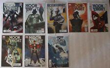 MOON KNIGHT (2011-2012 Marvel) Bendis Maleev Wilson #1,2,3,4,5,6,7,8 VF/NM