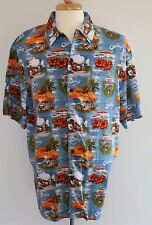 Castaway Cay Disney Cruise Line DCL Hawaiian Men Shirt Aloha XL New 2017 NWT