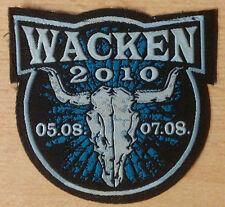 W:O:A - Wacken Open Air - Patch - Aufnäher - 2010 - WOA - Kutte NEU!