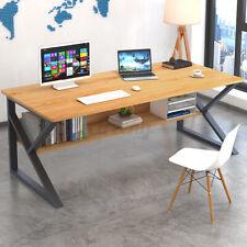 Computertisch Schreibtisch Arbeitszimmer Arbeitstisch Bürotisch Büromöbel Regal