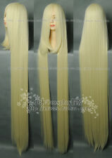 〈Chobits〉New Cosplay Wig Long Platinum Blonde Wig Hair 150cm
