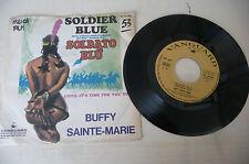 "BUFFY SAINTE MARIE""SOLDIER BLU-disco 45 giri VANGUARD Italy 1970"" OST"