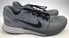 Men's 12 46 - Nike Lunarglide 7 Gray Athletic Running Sneakers Shoes 747355-002