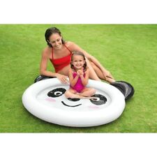 INTEX SMILING PANDA BABY PADDLING POOL INFLATABLE 117CM X 89CM KIDS CHILDRENS