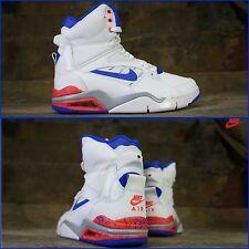 "New! Men Nike ""Air Command Force"" High Top Foam Yeezy 684715-101 True Blue 10.5"