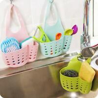 Housing Kitchen Shelves Cradle Rack Kitchen Sponge Holder Storage Basket Bags UK