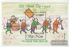Vietnam Block 113 (compleet.Kwestie.) MNH 1996 Jaar de Rat
