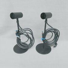 Pair of Oculus Rift CV1 Motion Sensor Cameras With Stands Tested VR