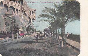 Postcard Italy Genoa - Genova Circonvallazione A Mare