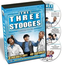 The Three Stooges Collection - 40 Features on 3 DVDs - New!