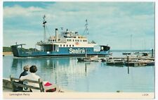 Lymington Sealink Ferry, by Dennis, c 1970's colour Unposted