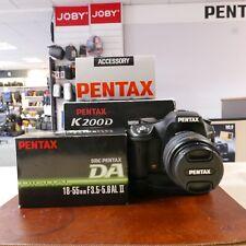 Used Pentax K200D + 18-55mm DA-AL II Lens + D-BG3 Grip  - 1 YEAR GTEE