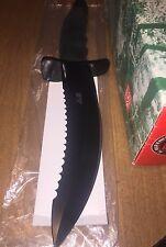 AL MAR Black Warrior Fighting Knife. Vintage, Rare Killer Blade Wicked Free Ship