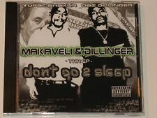 2004 Don't Go 2 Sleep Tha EP cd Makaveli & Dillinger Tupac 2PAC Daz to DPG DPGC