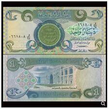 Iraq 1 Dinar 1984 (UNC) 全新 伊拉克 1第纳尔 雕刻版 1984年