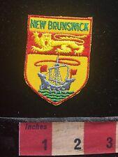 Canada Patch NEW BRUNSWICK ~ Lion Heraldry 73B5
