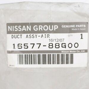 NISSAN Genuine OEM DUCT ASSEMBLY, AIR  D21  PICKUP D21U  PICKUP  16577-88G00