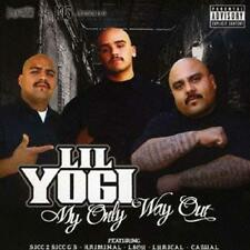 LIL YOGI-MY ONLY WAY OUT-JAPAN CD E78