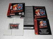 Jeu vidéo Nintendo GBA Game boy advance Super Mario Bros