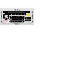 JLG 2910865 - NEW JLG Platform Control Box Decal Kit