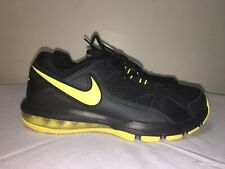 RARE 2013 Nike AirMax Training Shoes Black/Sonic Yellow 579940-007 Men Size 8.5
