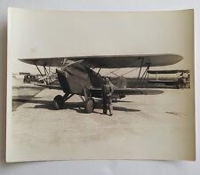 Curtiss P5 HAWK 75 Doolittle 1926 Orig 1940s Press Photo 8x10 Aviation
