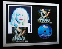 HOLE+COURTNEY LOVE+SIGNED+FRAMED+DAUGHTER+LIVE=100% AUTHENTIC+FAST GLOBAL SHIP