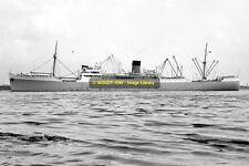 mc2697 - Port Line Cargo Ship - Port Jackson , built 1937 - photo 6x4