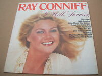 ray conniff  i will survive  south american / colombian cbs label pressing lp