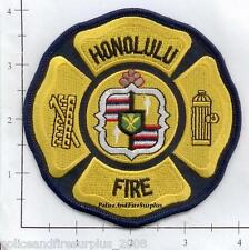 Hawaii - Honolulu HI Fire Dept Patch