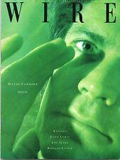 DAVID SANBORN, BOOKER LITTLE, LOU GARE, JOHN LEWIS  - WIRE, ISSUE 55, SEPT 1988.