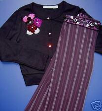 NEW Boutique SISTER SAM Cardi & Beaded Trouser SET 6X