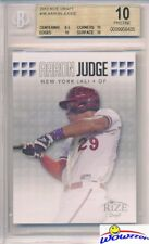 2013 Leaf Draft Aaron Judge ROOKIE BGS 10 PRISTINE New York Yankees!