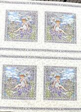 Fairy Squares Lavender 112 x 112 cm each square is approx 18 cm sq (20 in total)