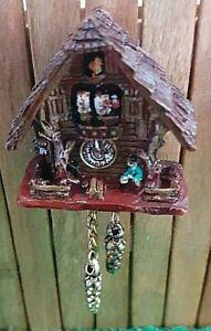 Dolls house Reutter Black forest cuckoo clock