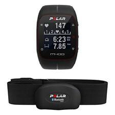 Polar M400 GPS-Laufuhr mit Herzfrequenzmesser und Brustgurt, Schwarz