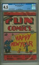 More Fun Comics 17 (CGC 4.5) C-O/W pages; DC; 1937; $1,850 in guide! (c#23731)