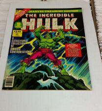 Marvel Treasury Edition #17 The Incredible  Hulk Bronze Age Key VGFN
