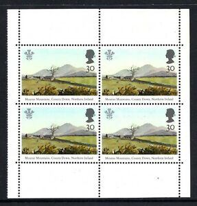 1994 Prince Charles Paintings SG1812a Booklet Pane Unmounted Mint
