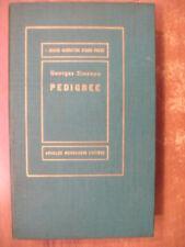 Georges Simenon PEDIGREE 1° edizione Mondadori collana Medusa 1954