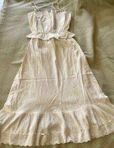 Vintage Petticoat/Slip by Opera /lace bodice top