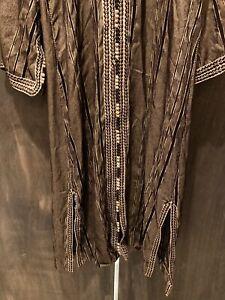 Moroccan Jelaba Jellaba Caftan Kaftan Hooded Cotton Robe Silk Embroidered Custom