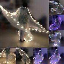 LED alas de Isis alas de danza del vientre danza alas Costume LIGHT UP LED Mostrar