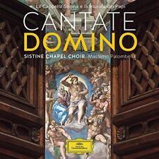 Cantate Domino - La Cappella Sistina E La Musica Del Papa - Massimo Pal (NEW CD)
