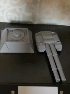 Heavy Battleship style Turret Emplacement  3D printed 28mm Grimdark  sc-fi 28mm